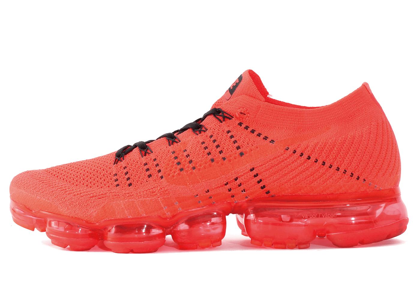 Clot × Nike Air VaporMax Bright Crimsonの写真