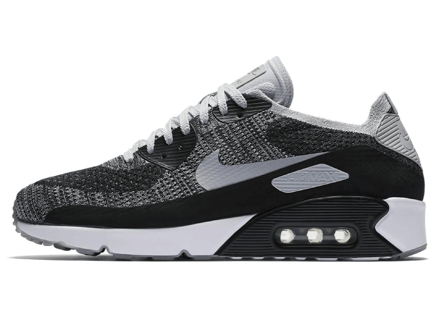 Air Max 90 Ultra 2.0 Flyknit Black Wolf Greyの写真
