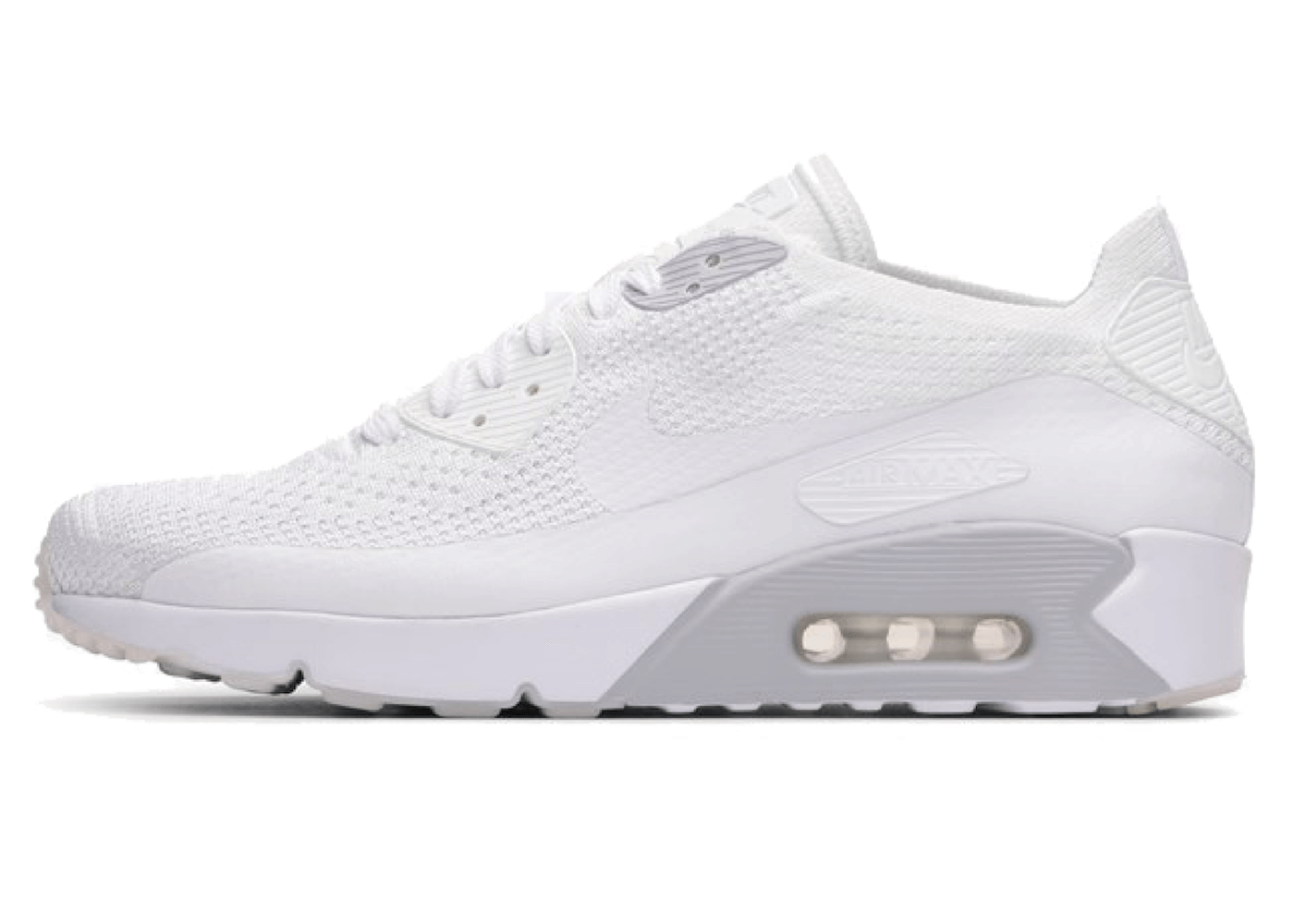Air Max 90 Ultra 2.0 Flyknit Whiteの写真