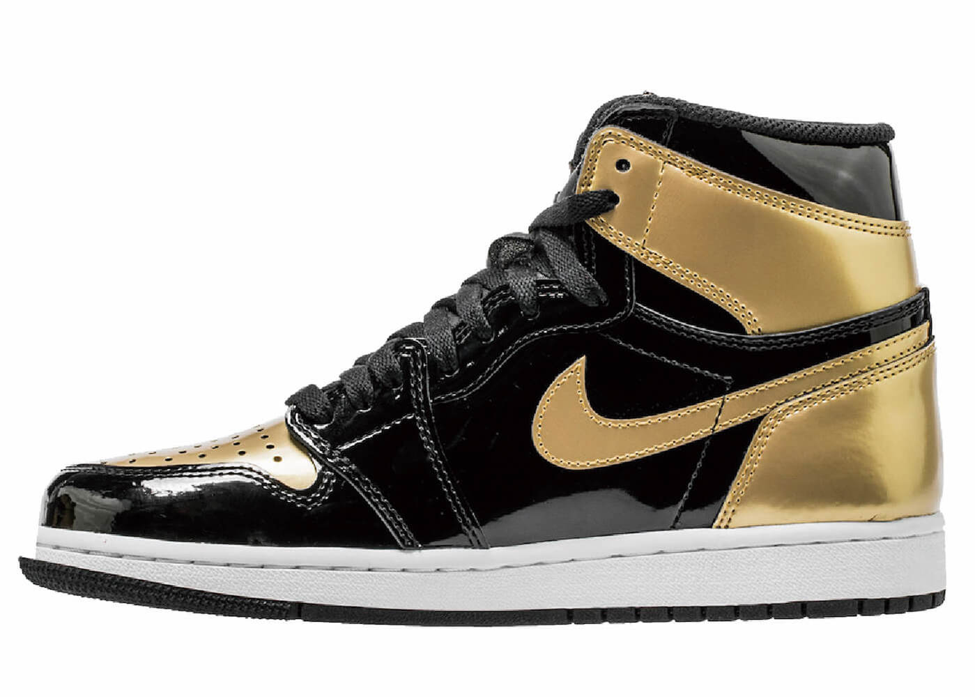 JORDAN 1 RETRO HIGH GOLD TOE (2018)の写真