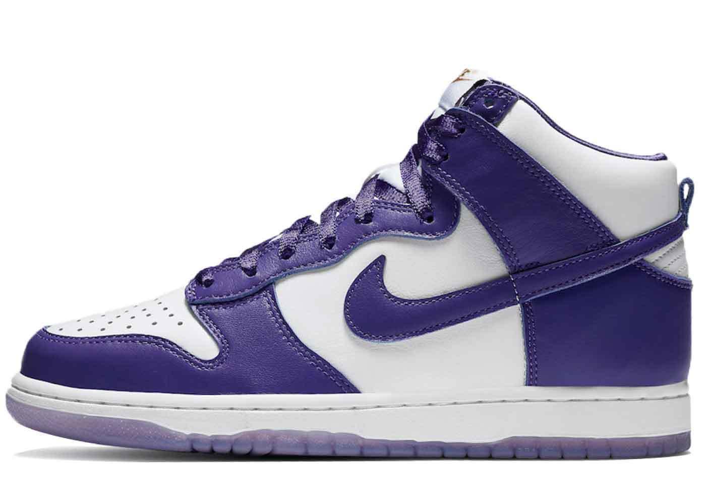 Nike Dunk High Varsity Purple Womensの写真