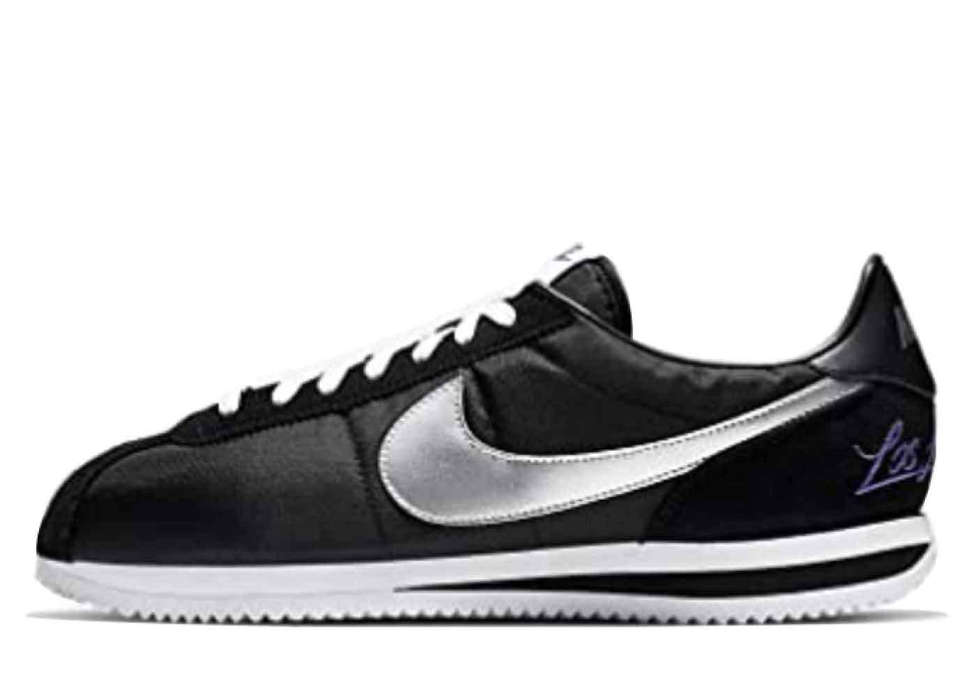 Nike Cortez Los Angeles Blackの写真