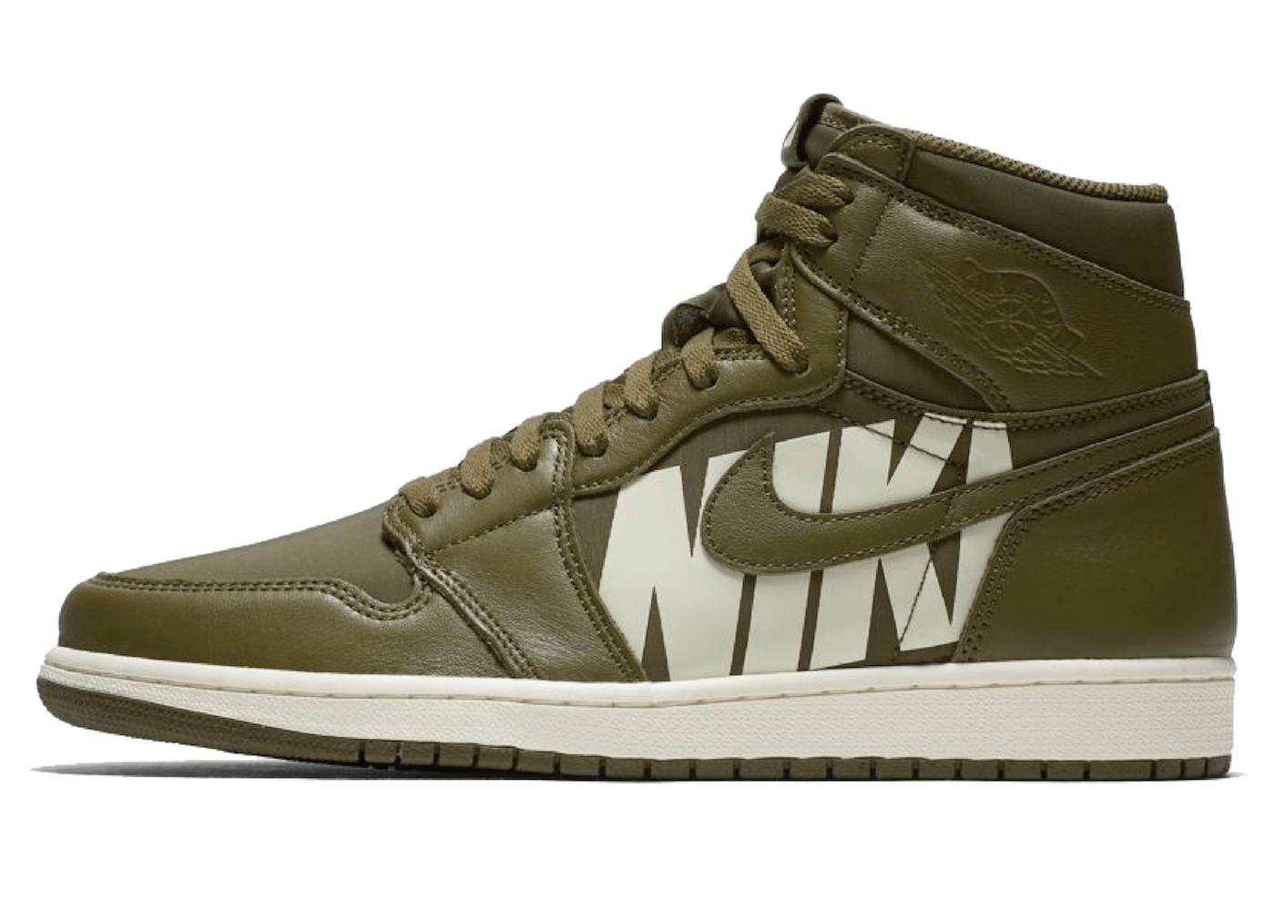 NIKE AIR JORDAN 1 RETRO HIGH OLIVE CANVASの写真