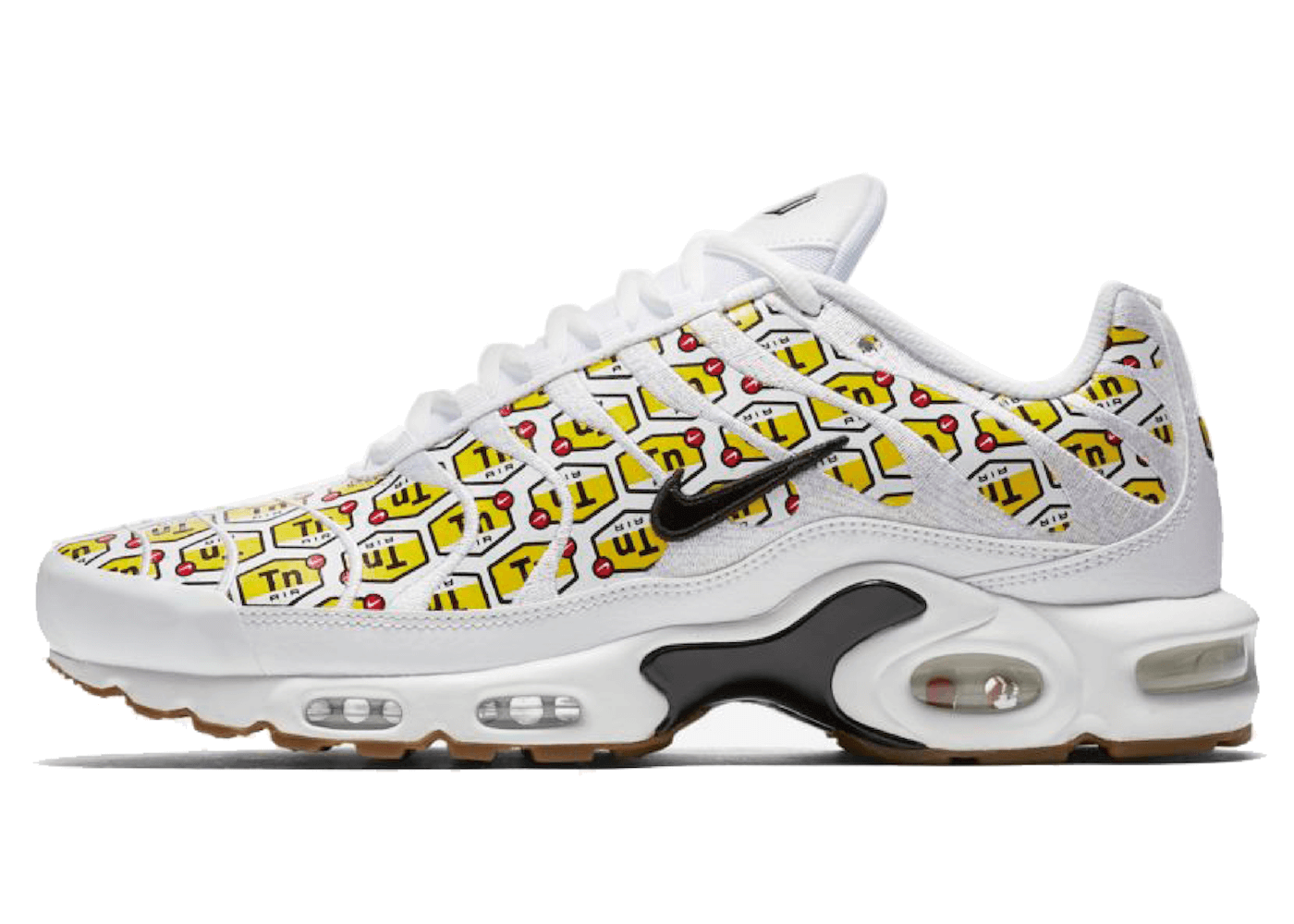 NIKE AIRMAX PLUS HONEYCOMB WHITEの写真