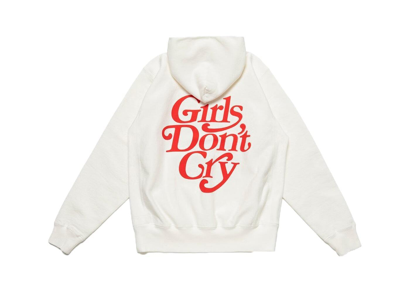 Girls Don't Cry × Human Made Hoodie Whiteの写真