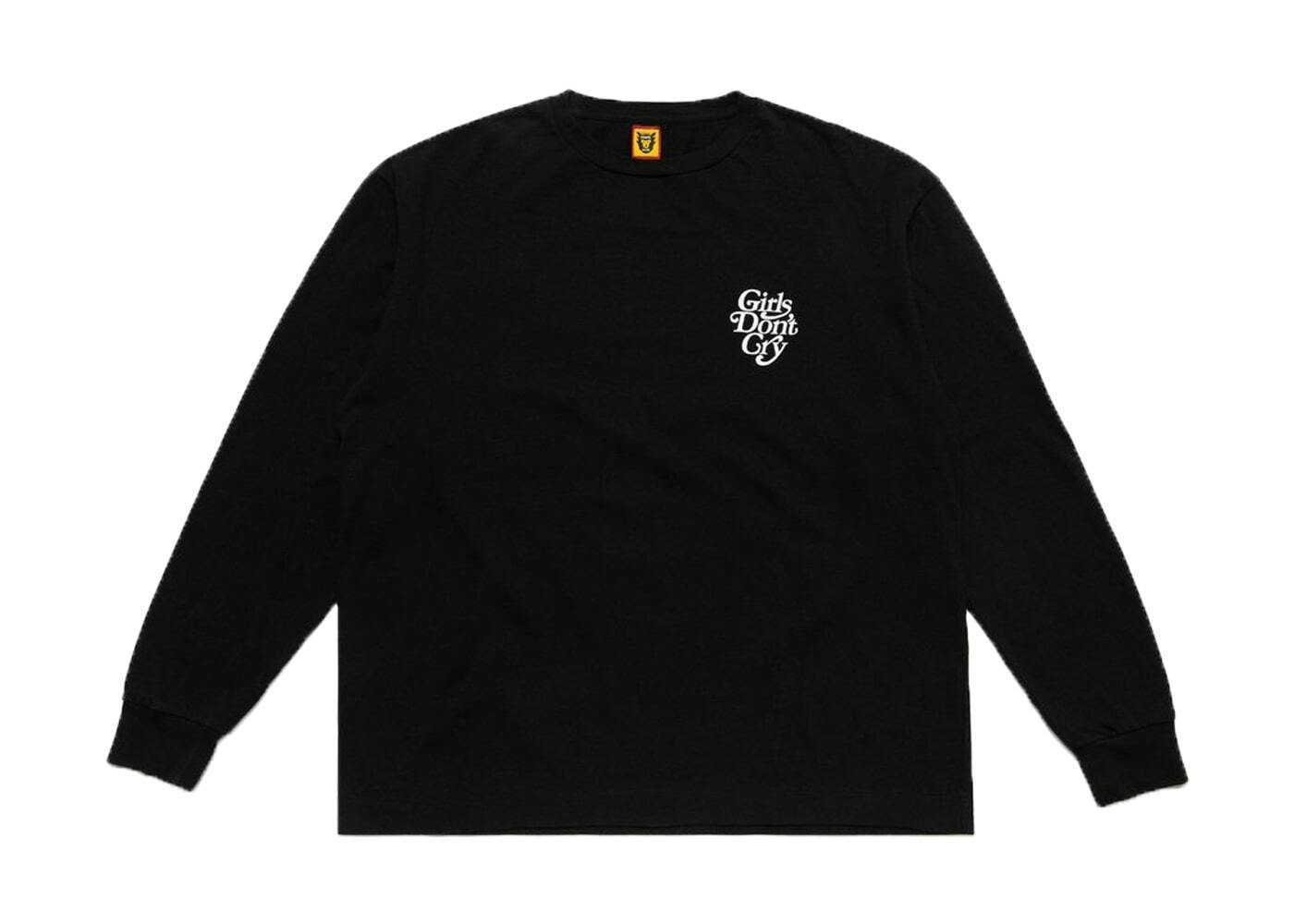 Girls Don't Cry × Human Made L/S Tee Blackの写真