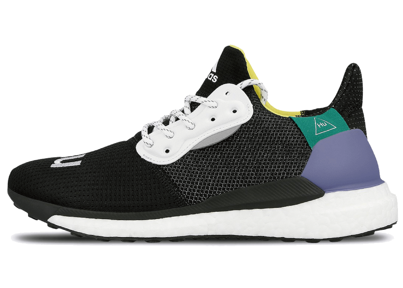 ADIDAS PHARRELL WILLIAMS SOLAR HU GLIDE BLACKの写真