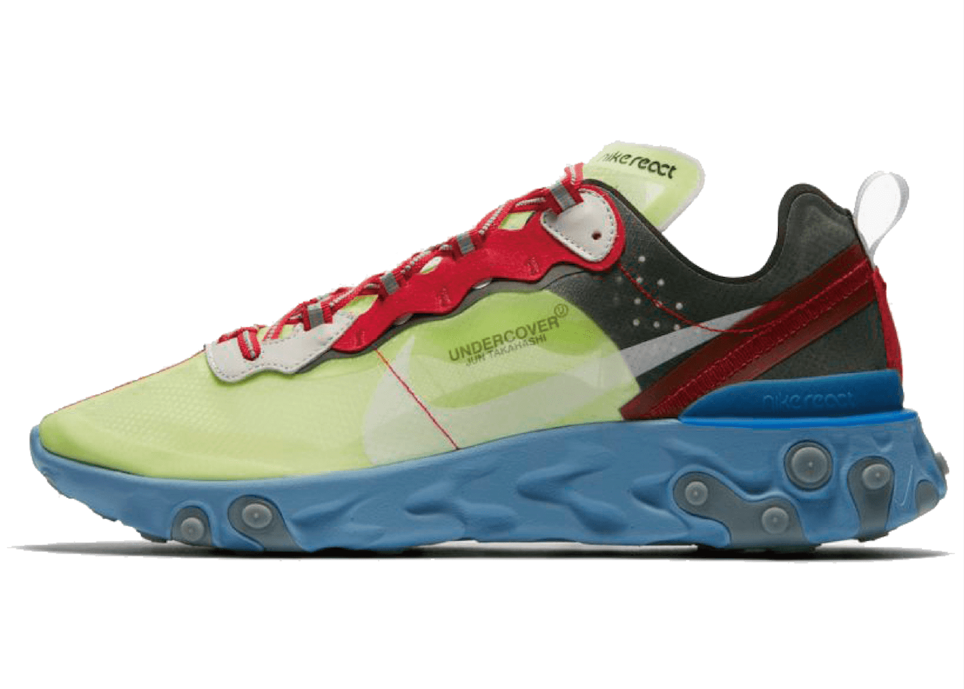 UNDERCOVER × NIKE REACT ELEMENT 87 VOLTの写真