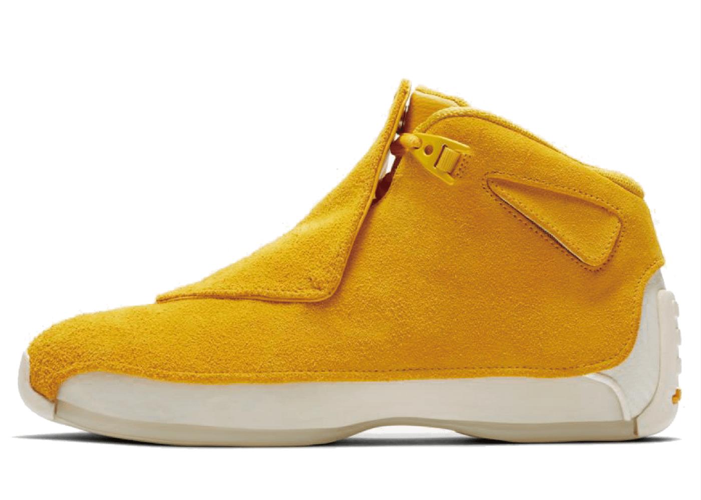 Nike Air Jordan 18 Retro Yellow Ochreの写真