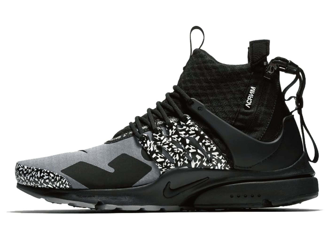 ACRONYM × NIKE AIR PRESTO MID COOL GREYの写真