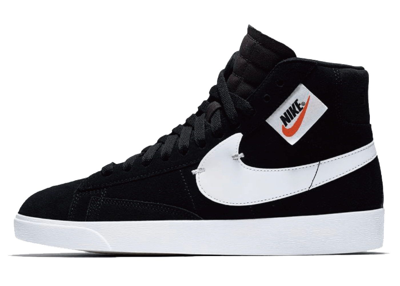 Nike Blazer Mid Rebel Black White (W)の写真