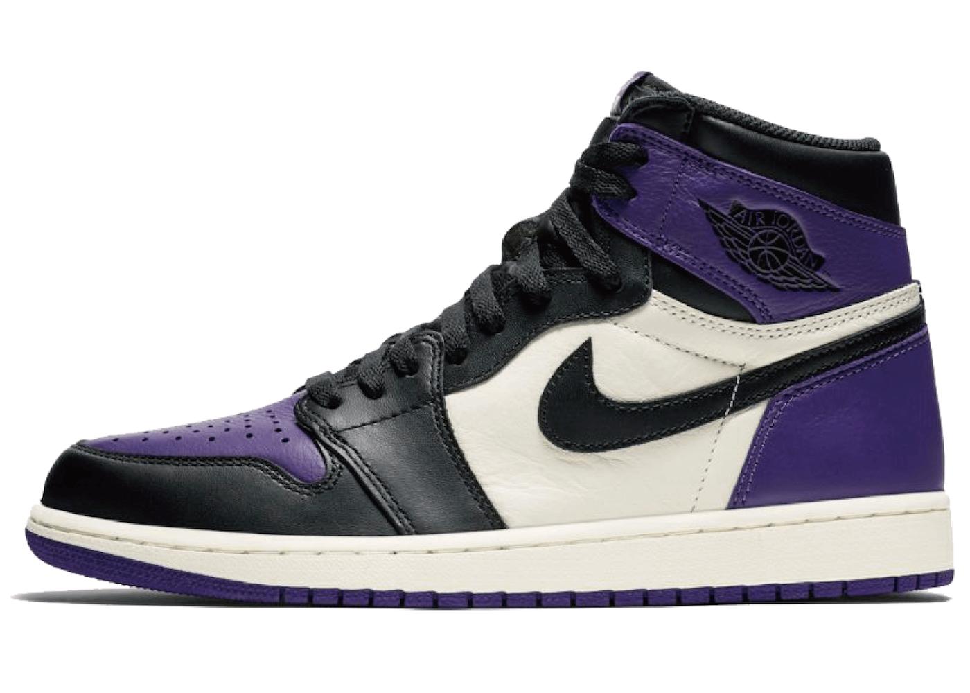 Nike Air Jordan 1 Retro High Court Purpleの写真