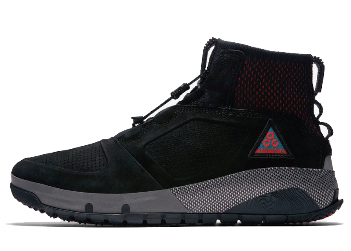 Nike ACG Ruckel Ridge Black Habanero Redの写真