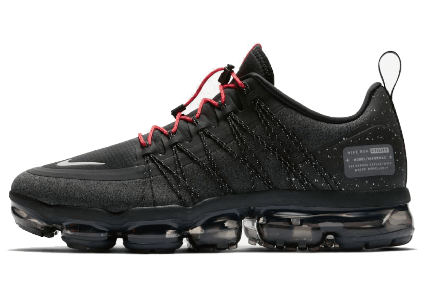 Nike Air Vapormax Run Utility Black Habanero Redの写真