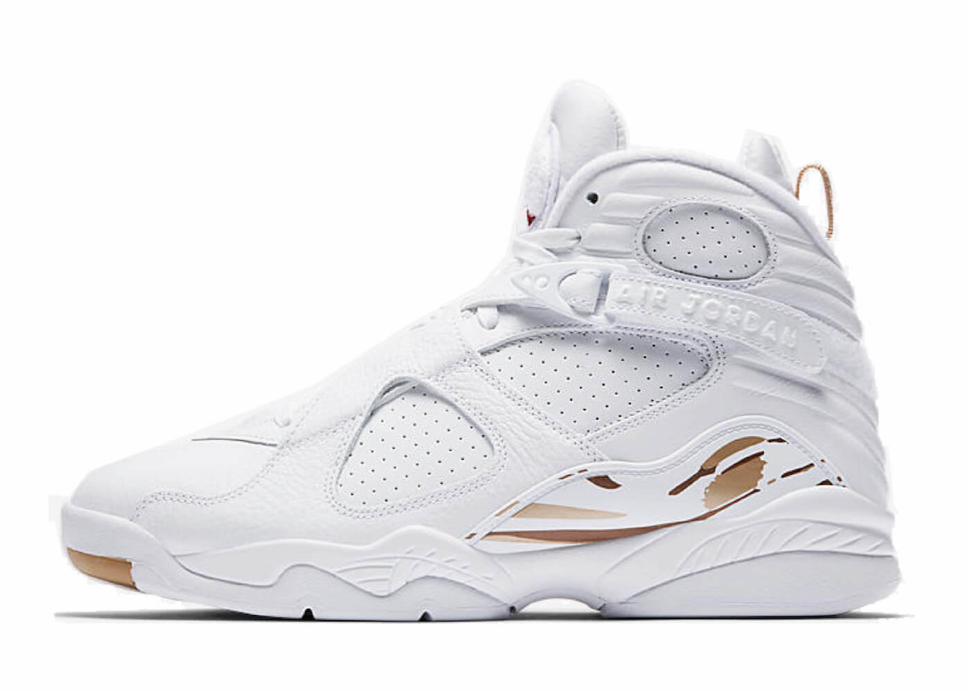 JORDAN 8 RETRO OVO WHITEの写真