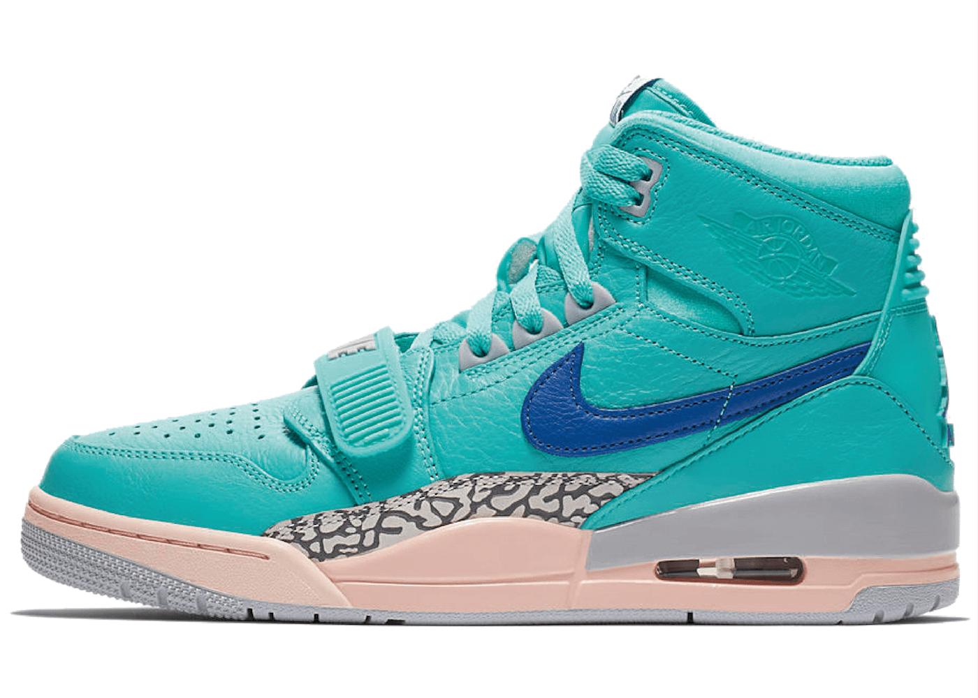 DON C × Nike Jordan Legacy 312 Hyper Jadeの写真