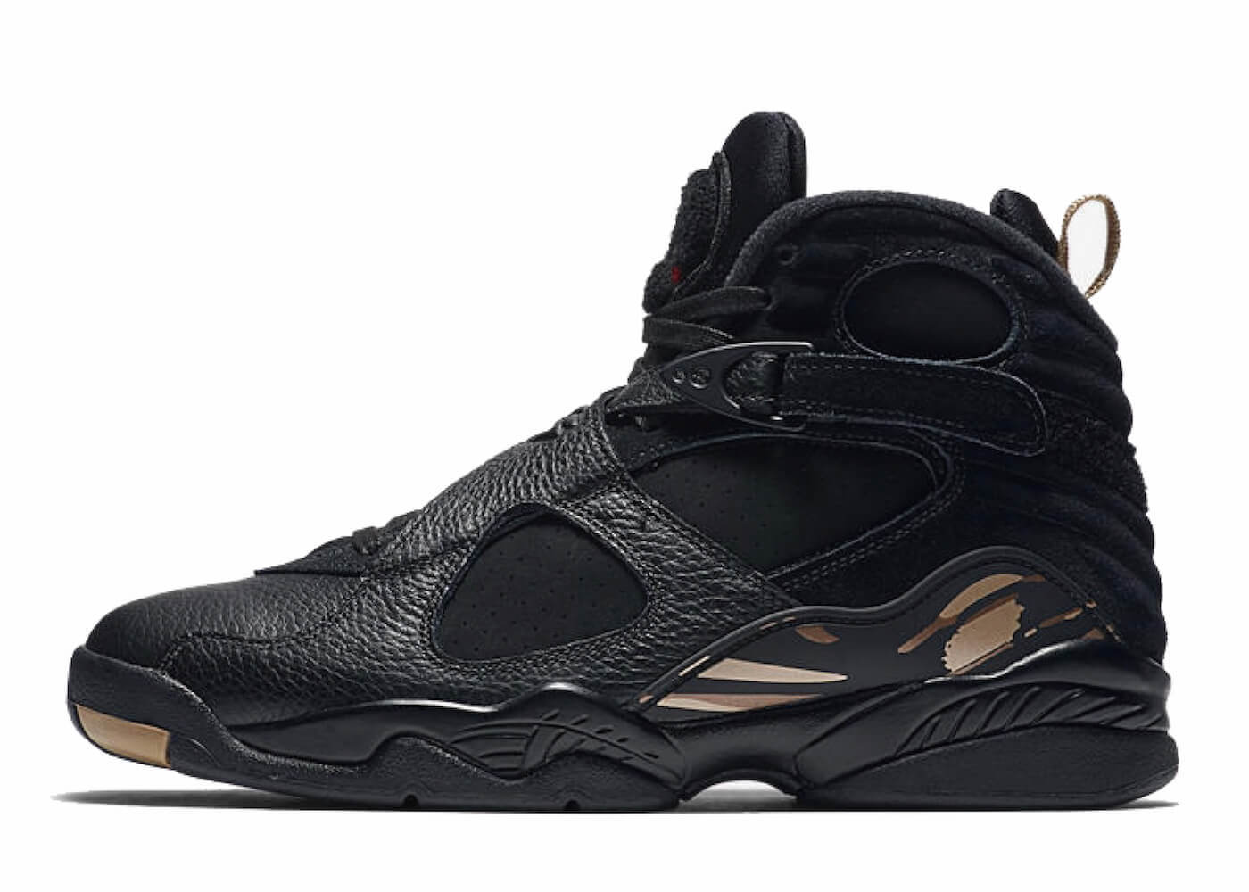 JORDAN 8 RETRO OVO BLACKの写真