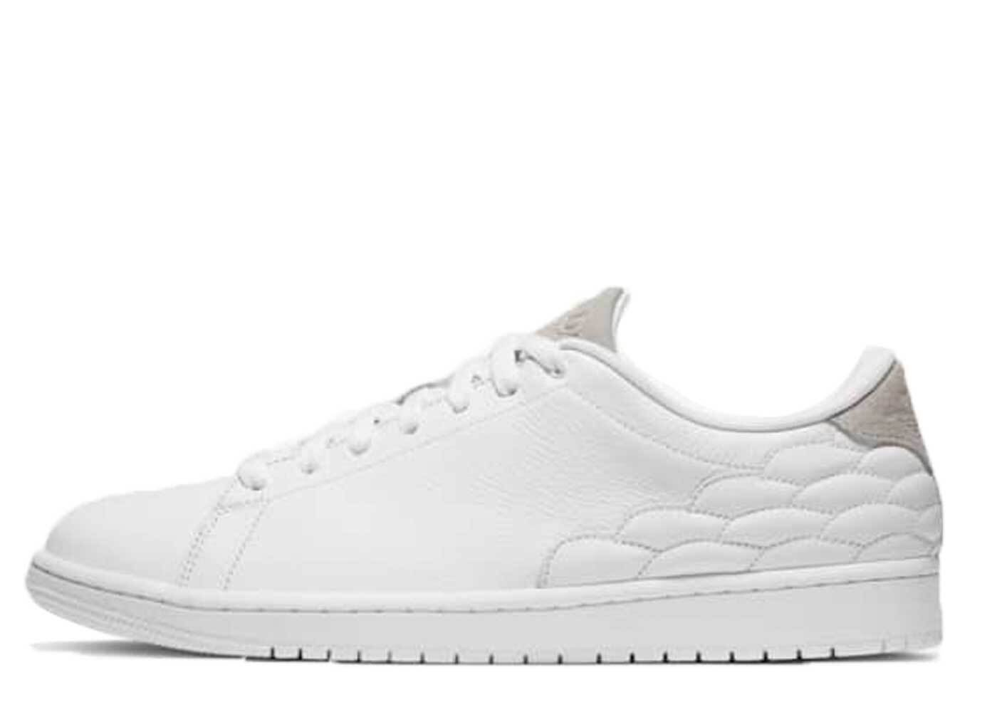 Nike Air Jordan 1 Center Court White On Whiteの写真