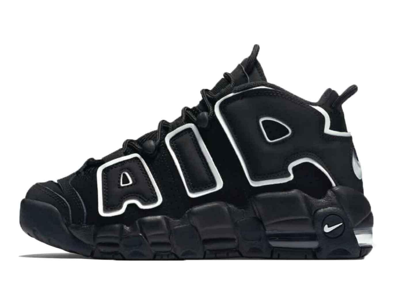 Nike Air More Uptempo Black GS (2020)の写真