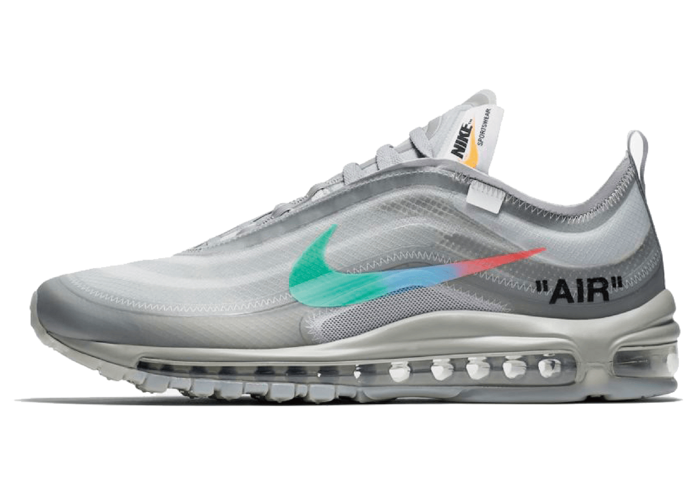 Off-White × Nike Air Max 97 Greyの写真