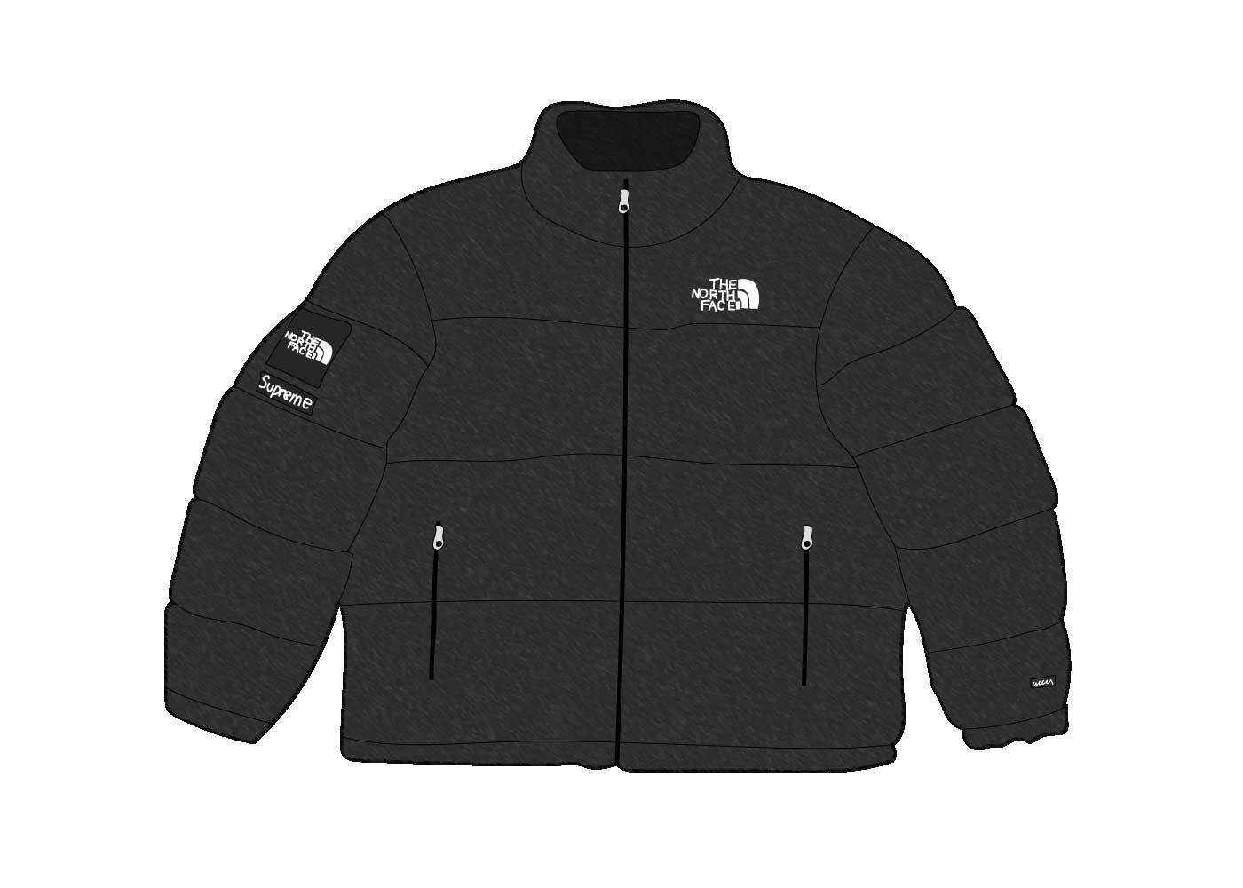 Supreme × The North Face Faux Fur Nuptse Jacket Blackの写真