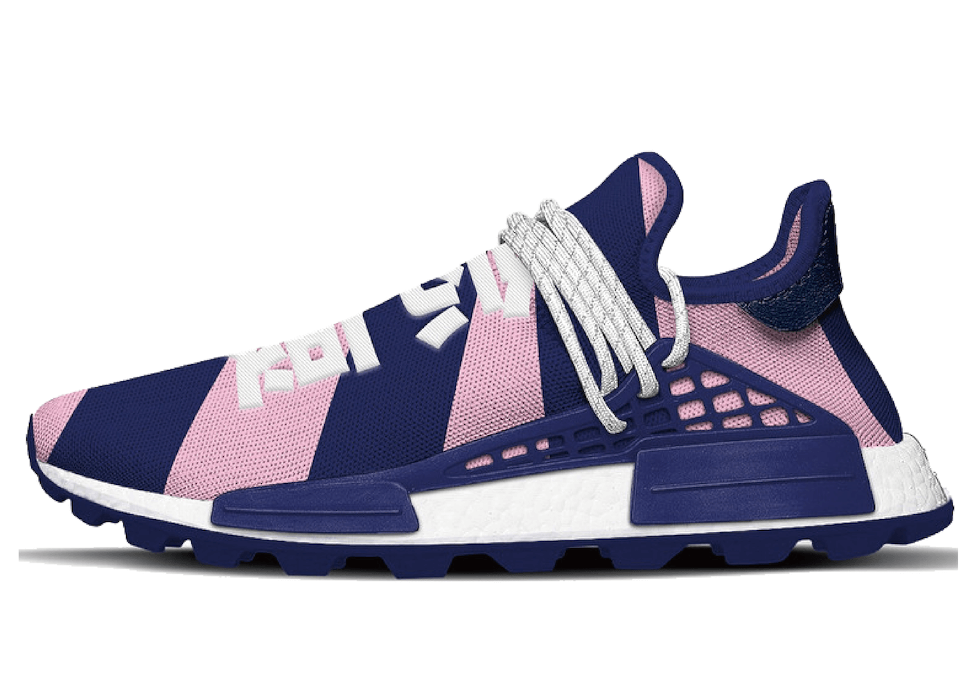 Adidas NMD Hu Pharrell x Billionaire Boys Club Navy Pinkの写真