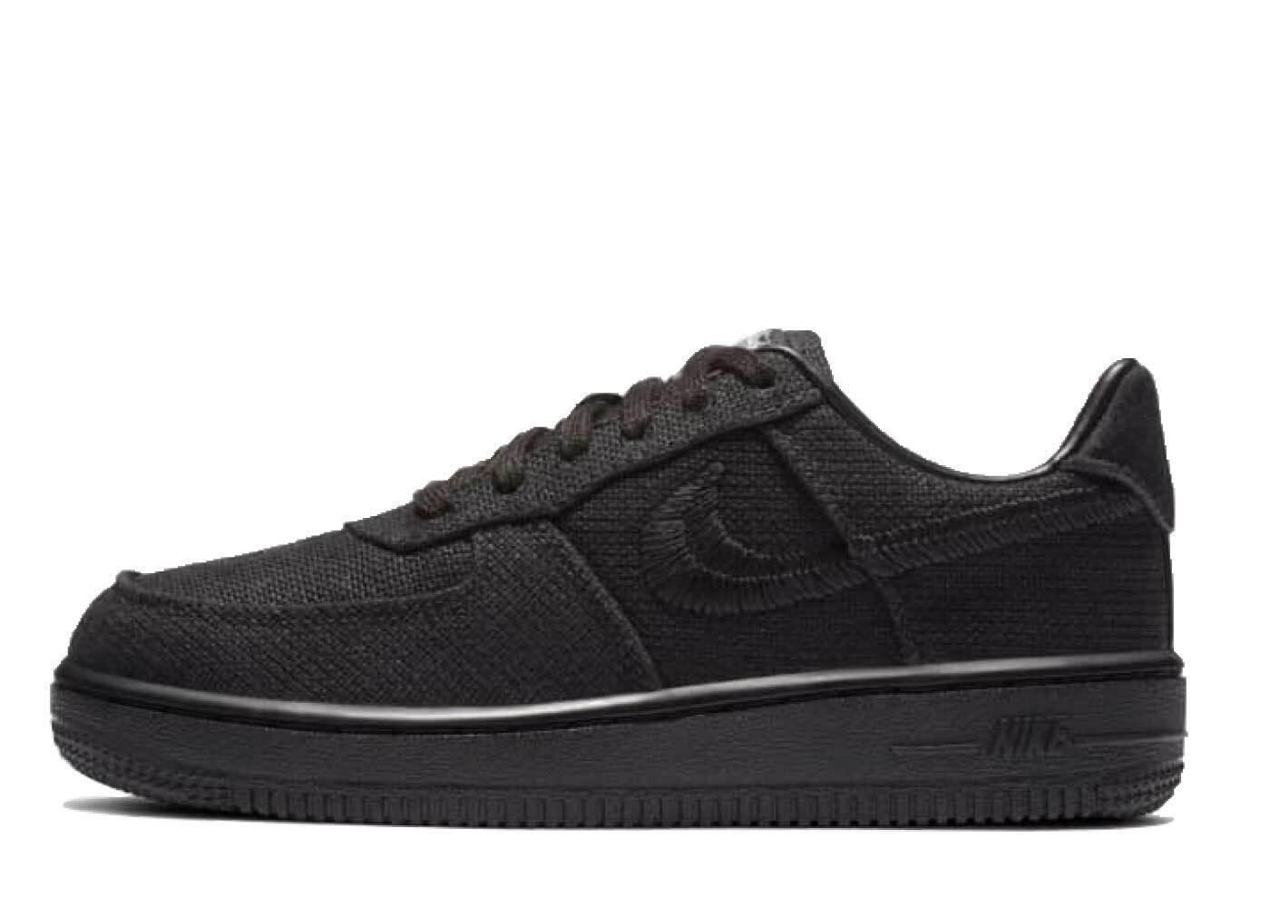 Stussy × Nike Air Force 1 Low Black PSの写真