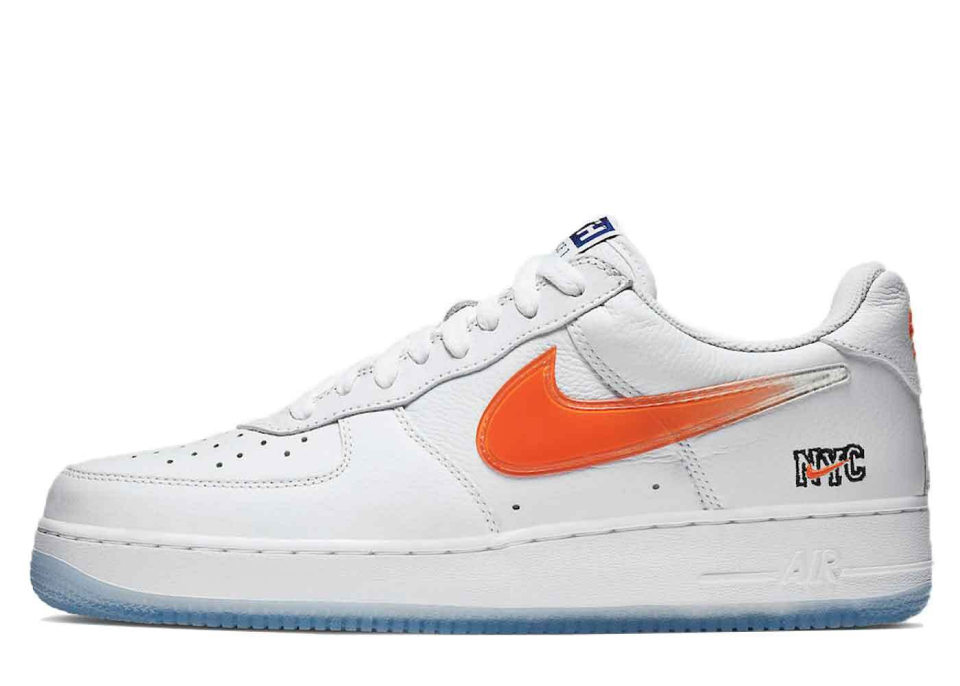 Kith × Nike Air Force 1 Low NYC Whiteの写真