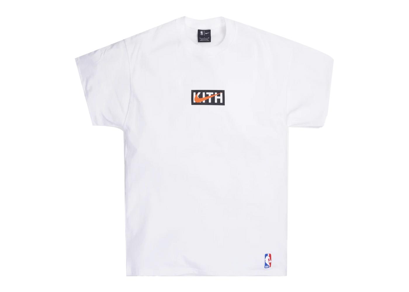Kith × Nike for New York Knicks Logo Tee Whiteの写真