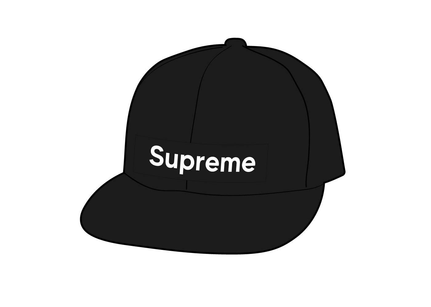 Supreme WINDSTOPPER Earflap Box Logo New Era Blackの写真