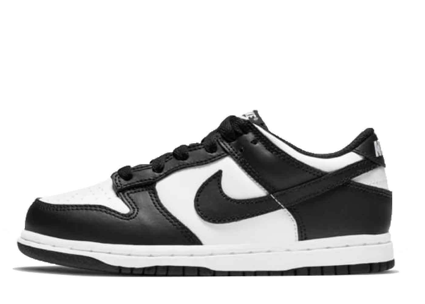 Nike Dunk Low White Black PSの写真