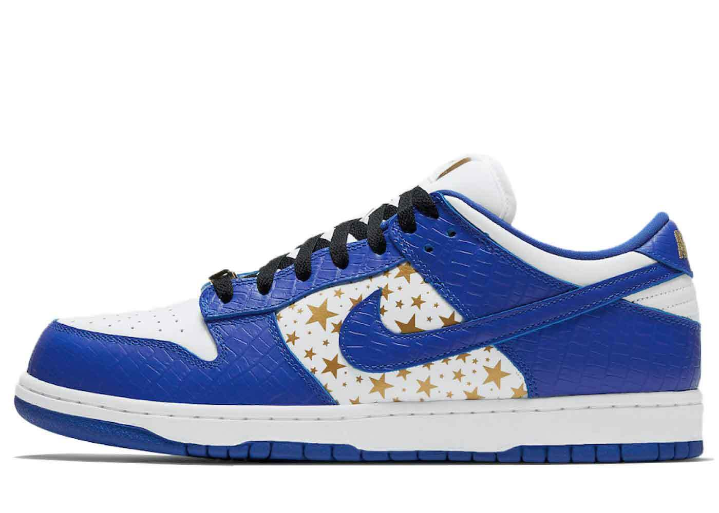 Supreme × Nike SB Dunk Low Blue Starsの写真
