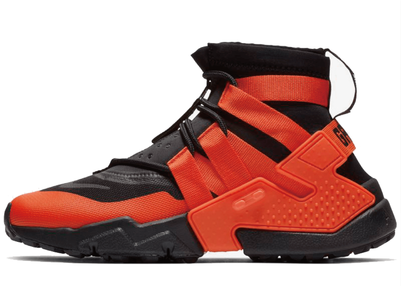 Nike Air Huarache Grip Black Team Orangeの写真