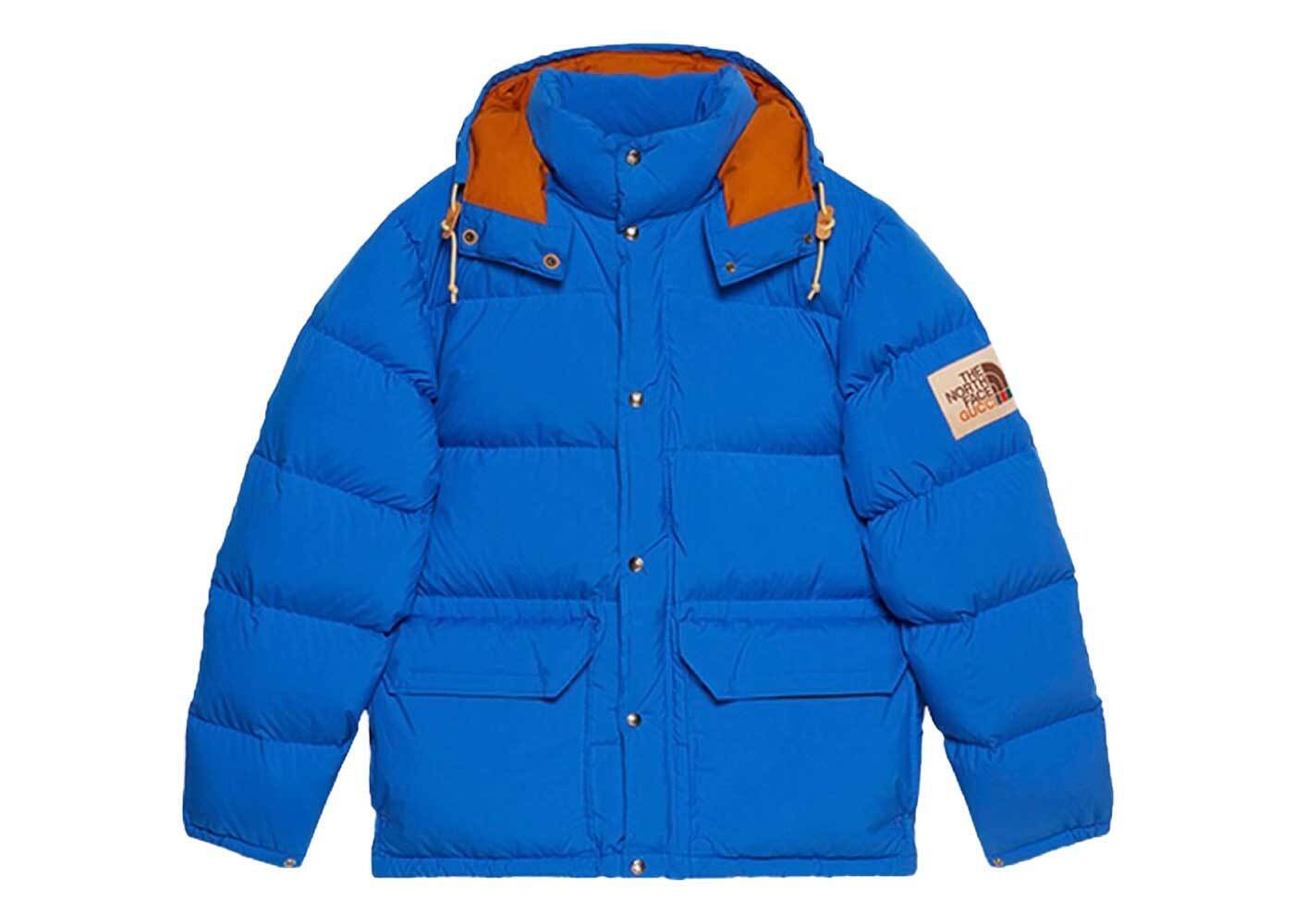 Gucci × The North Face Down Jacket Blueの写真