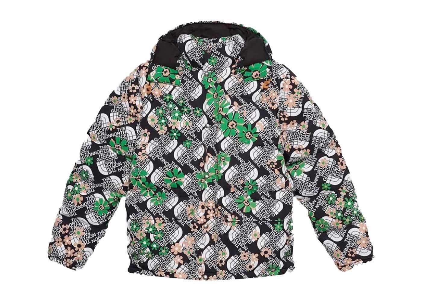 Gucci × The North Face Floral Jacket Blackの写真