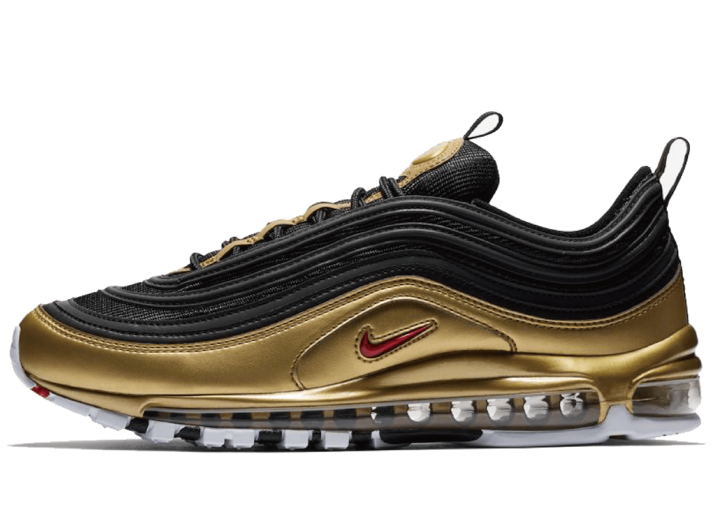 Nike Air Max 97 Black And Metallic Goldの写真