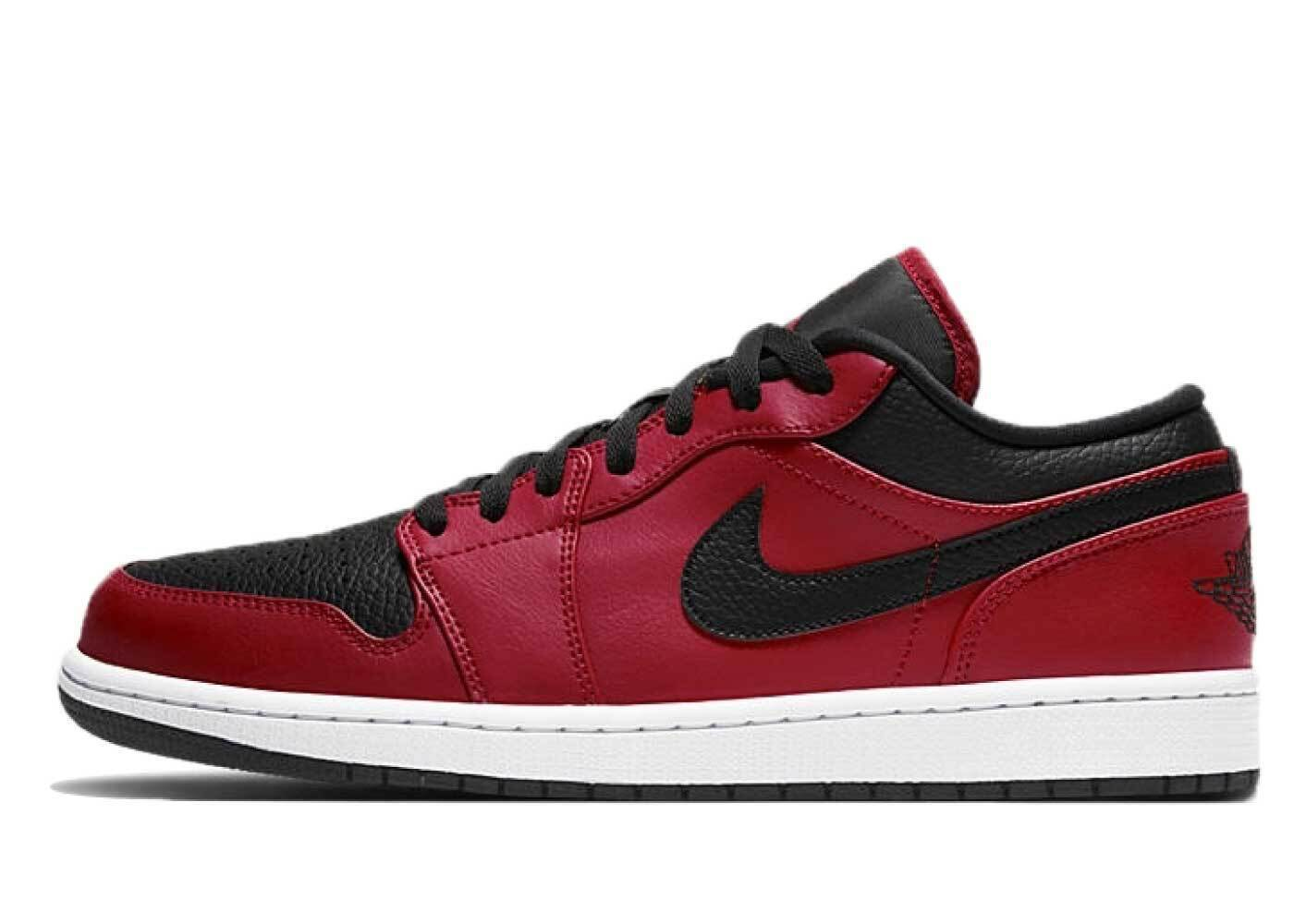 Nike Air Jordan 1 Low Gym Red Blackの写真