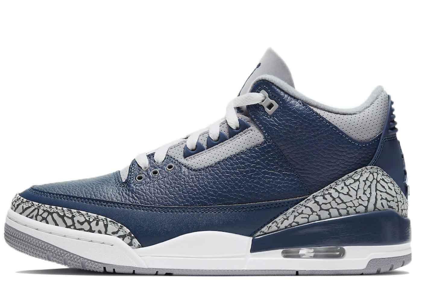Nike Air Jordan 3 Midnight Navyの写真
