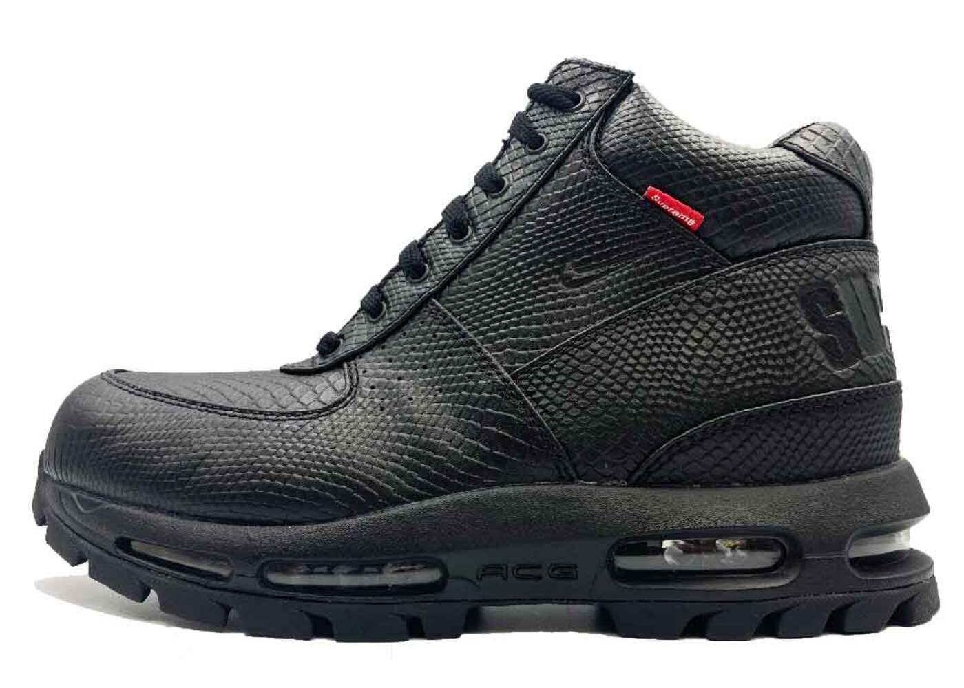 Supreme × Nike Air Max Goadome Blackの写真