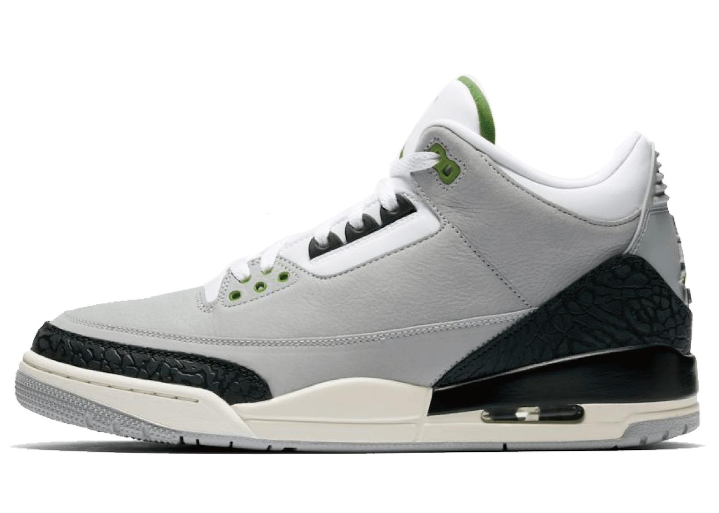 Nike Air Jordan 3 Retro Chlorophyllの写真