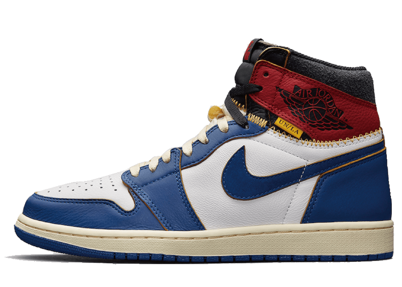 Union Los Angeles × Nike Air Jordan 1 Retro High Blue Toeの写真