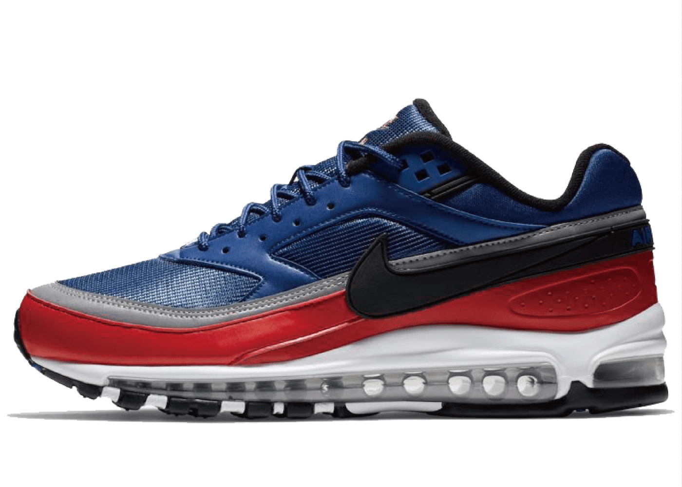 Nike Air Max 97 BW Deep Royal Blue University Red Metallic Silver の写真