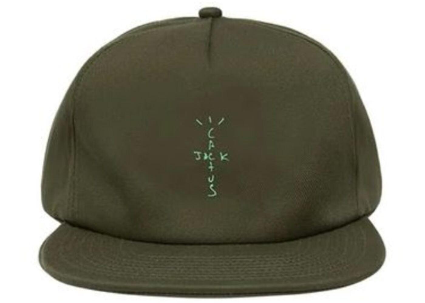Travis Scott × Nike Jordan Cactus Jack Highest Hat Oliveの写真