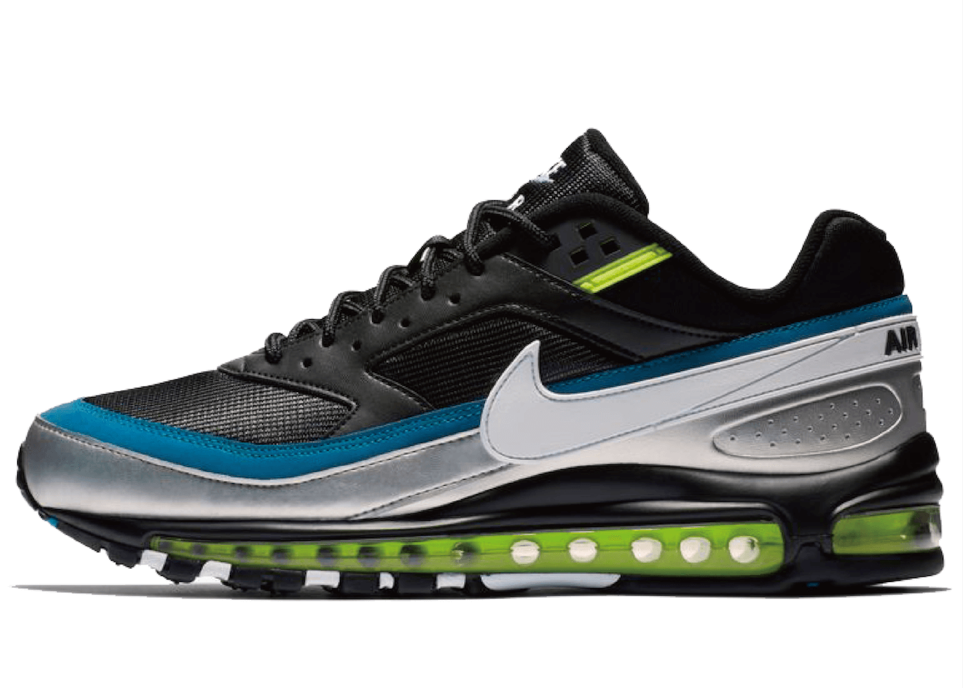 Nike Air Max 97 BW Black Metallic Silver Atlantic Blueの写真
