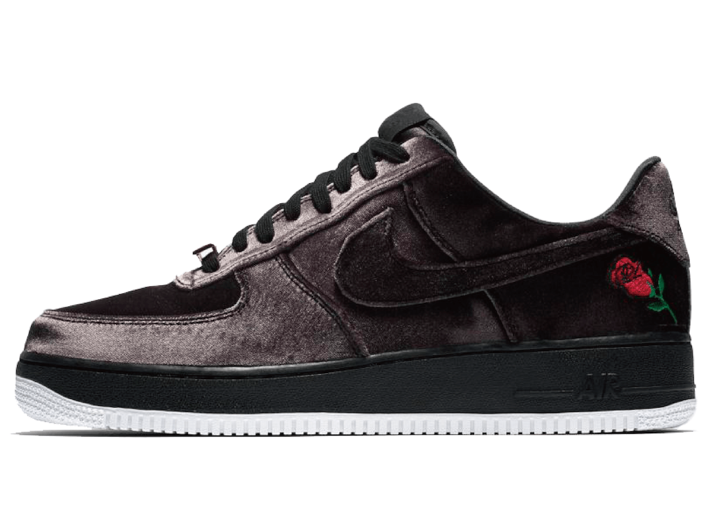 "Nike Air Force 1 Low Rose Satin ""VELVET""の写真"