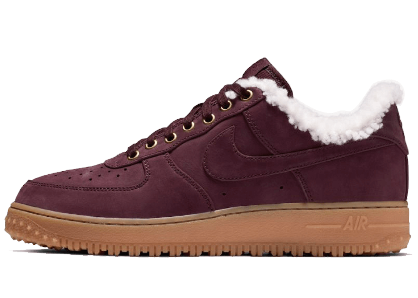 Nike Air Force 1 Winter Burgundy Crushの写真