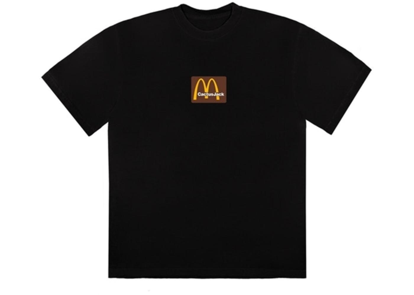 Travis Scott x McDonald's Sesame Inv T-Shirt Black/Brownの写真