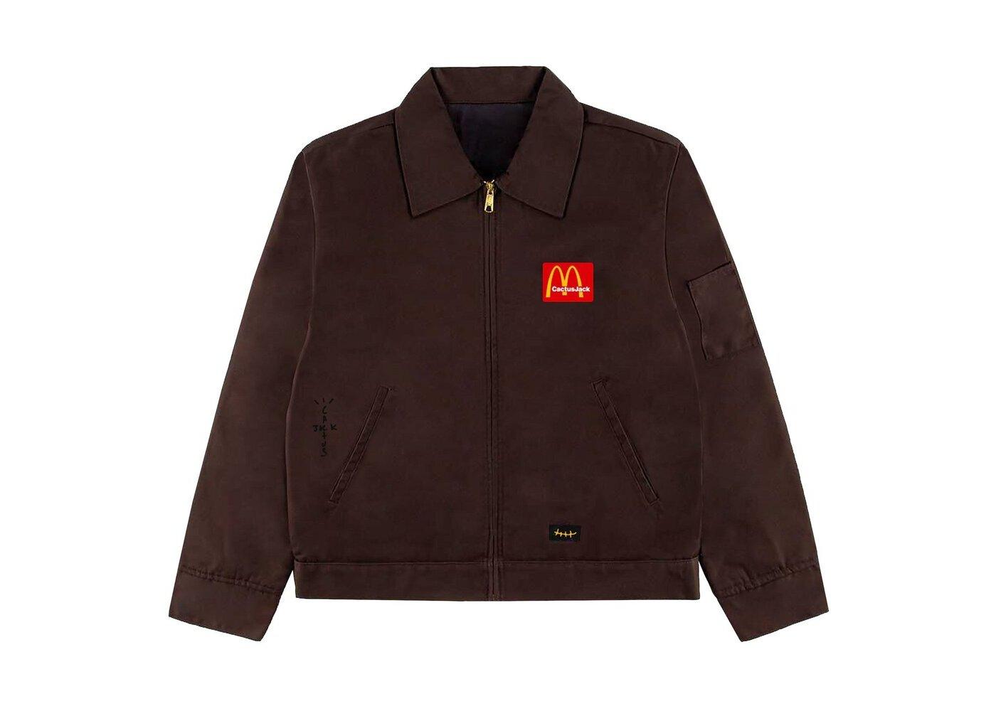 Travis Scott x McDonald's Billions Served Work Jacket Brownの写真