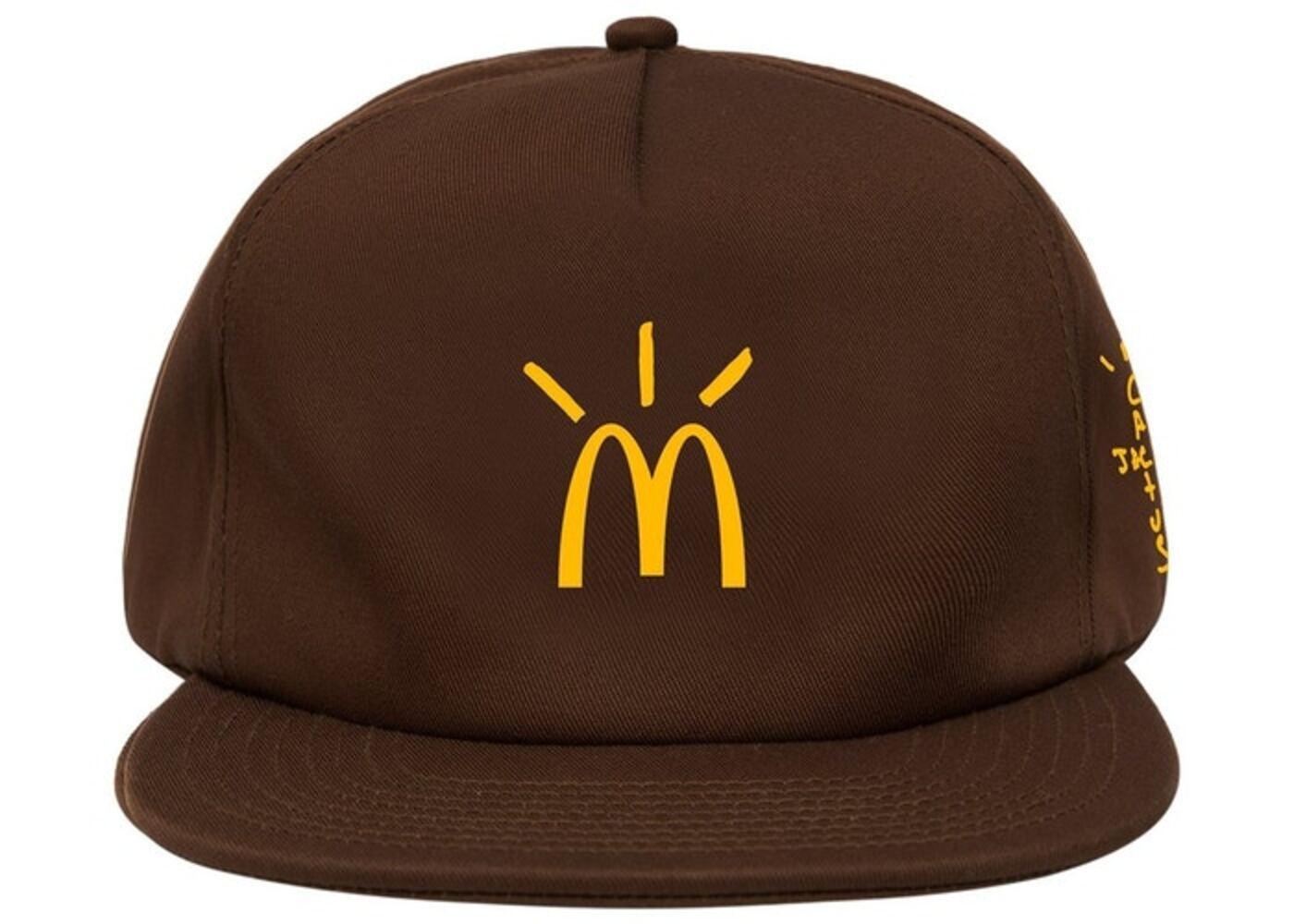 Travis Scott x McDonald's Cactus Arches Hat Brownの写真