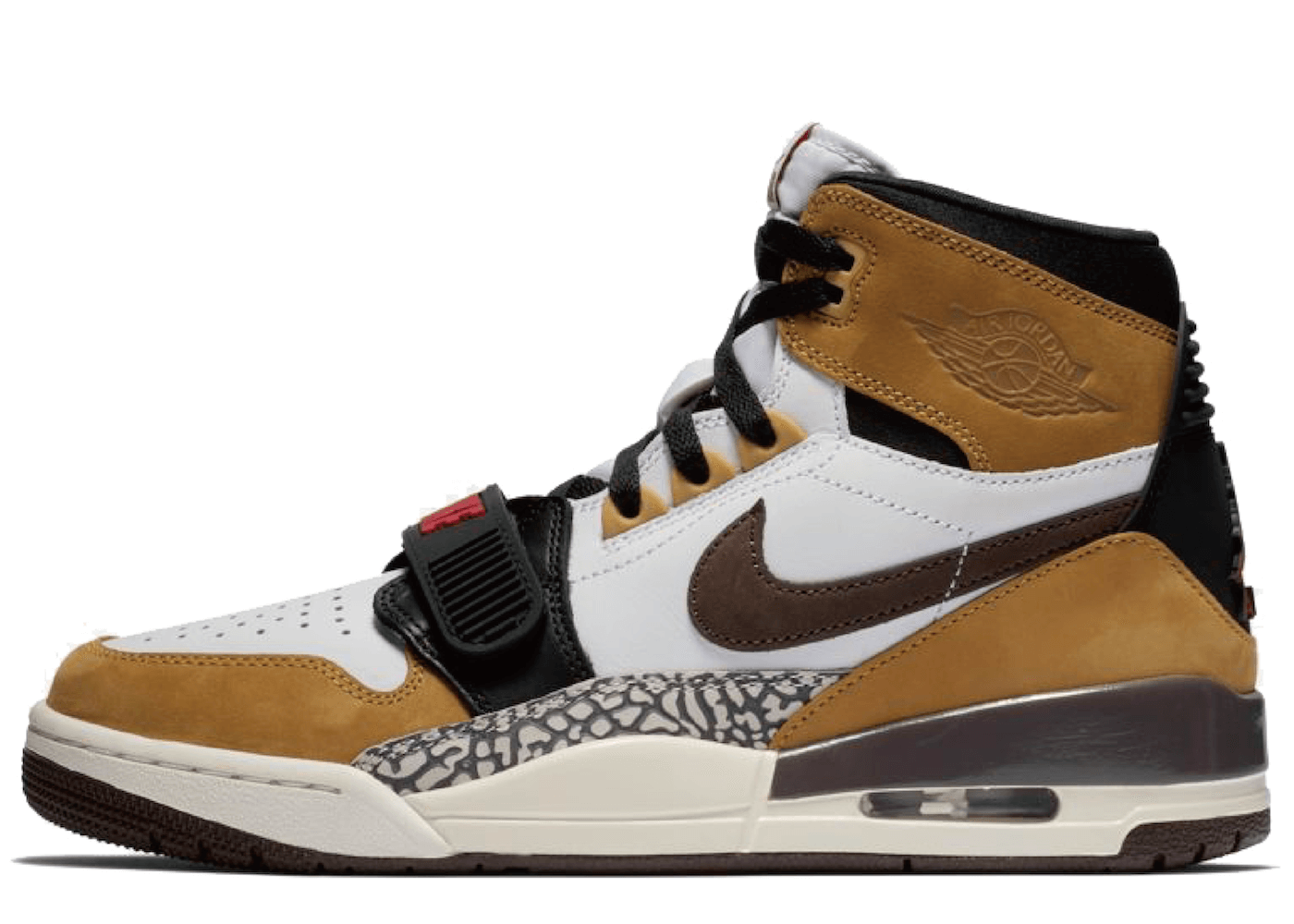 Nike Air Jordan Legacy 312 Wheat Varsity Redの写真